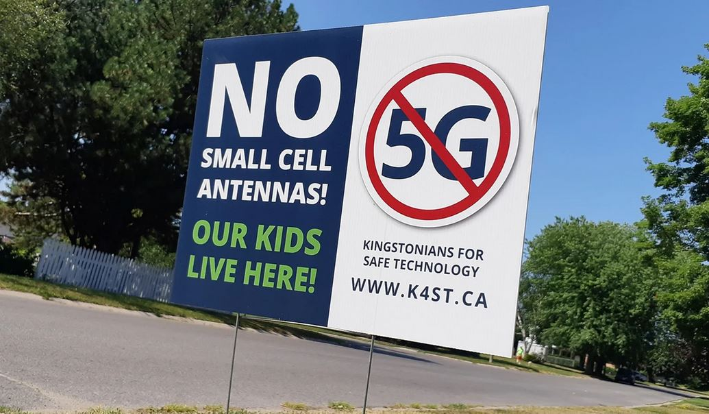 Write a Letter! Express Your Concern About 5G Coming to Kingston